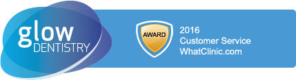 Glow Dentistry - 2016 Customer Service Award from WhatClinic.com